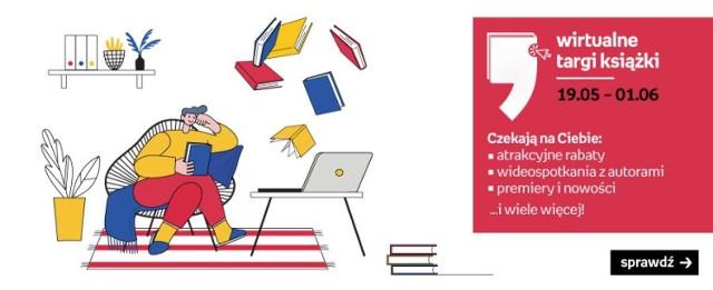 W ubiegłorocznych Wirtualnych Targach Książki zorganizowanych przez Empik wzięło udział aż 2 miliony czytelników