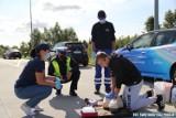 Akcja policjantów ze Staszowa. Uczyli jak zachować się na drodze i udzielić pomocy