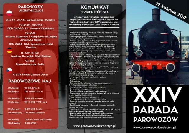 Program Parady Parowozów!