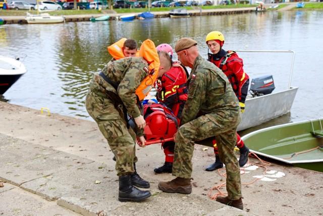Ćwiczenia odbyły się na jeziorze Resko Przymorskie.