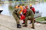 Biały szkwał na jeziorze Resko Przymorskie. Ćwiczenia WOT, WOPR, strażaków i policji [ZDJĘCIA]