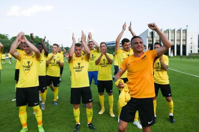 Piłkarze Wieczystej Kraków w minionym sezonie awansowali do IV ligi i zdobyli Małopolski Puchar Polski
