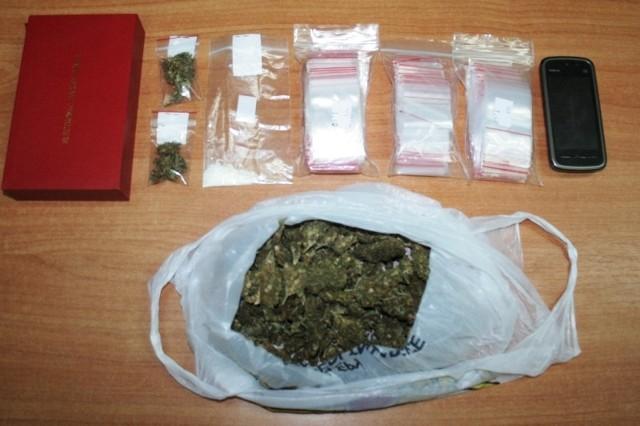 Inowrocław: Diler narkotyków zatrzymany [ZDJĘCIA]