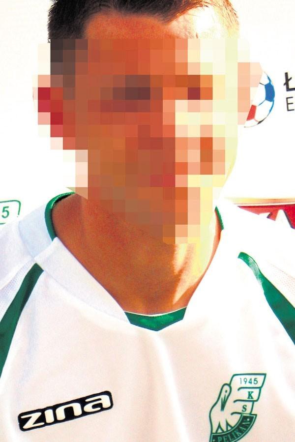 Pomocnik Pelikana Krystian B. został ukarany przez klub
