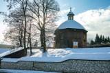 Krakowski Salwator wart jest wycieczki! Śnieg jeszcze dodał mu uroku [ZDJĘCIA]