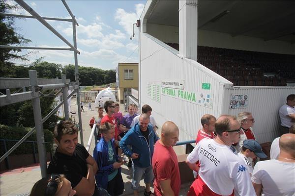 Zwiedzanie stadionu Górnika Zabrze
