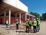 Wizytacja budowy stadionu miejskiego w Krotoszynie przez przedstawicieli WZPN [ZDJĘCIA]