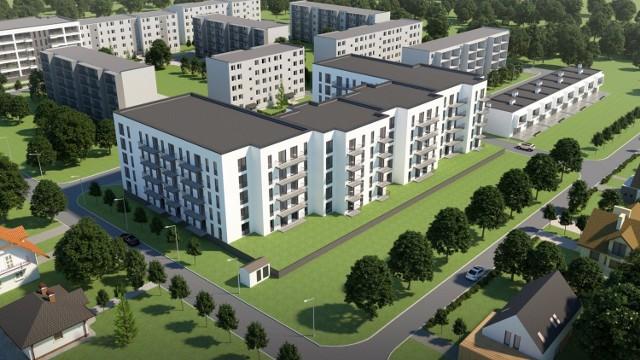 ŁSM zaprezentowała koncepcję nowych budynków na Bratkowicach