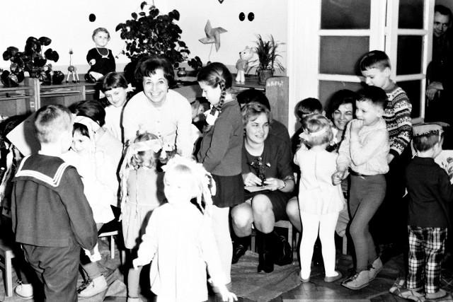Przedszkolaki z Sieradza w latach 60