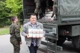 14 ton żywności trafiło do najbardziej potrzebujących. Pomagali strażacy i terytorialsi