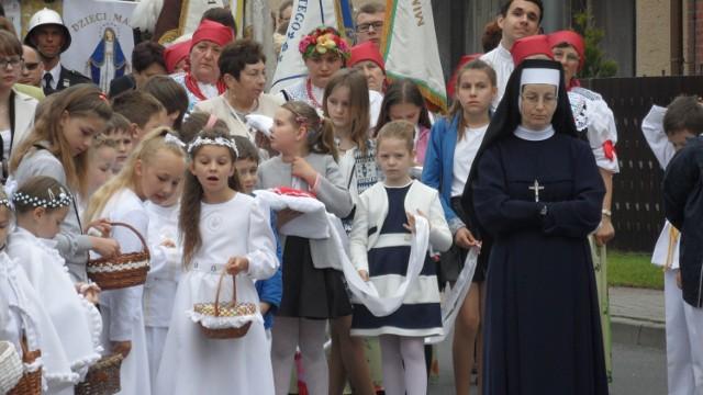 Procesja Bożego Ciała 2016 w Chełmie Śląskim