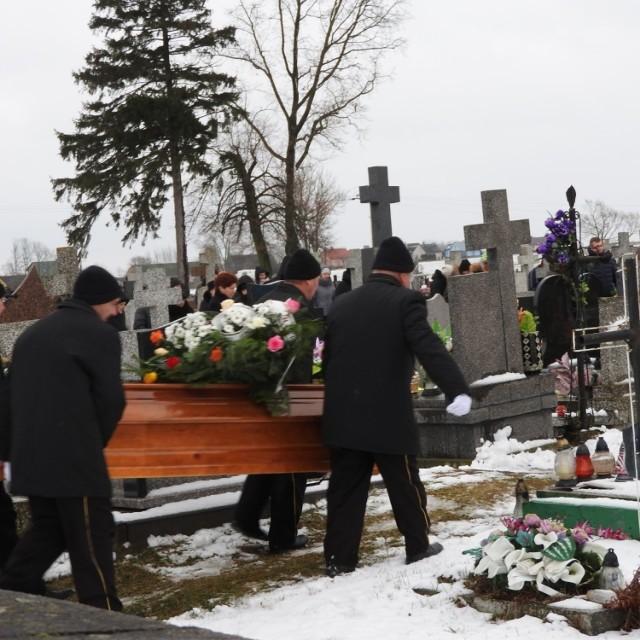 Pogrzeb Daniela zamordowanego przed kebabem w Ełku