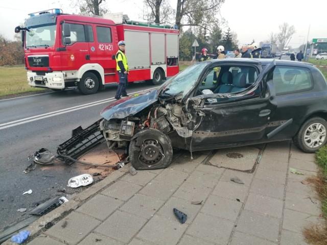Groźny wypadek w Żydowie. Jedna osoba jest poszkodowana