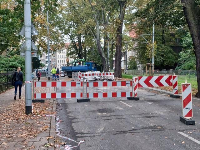 Zamknięta ulica Wawrzyniaka – 8.10.2021