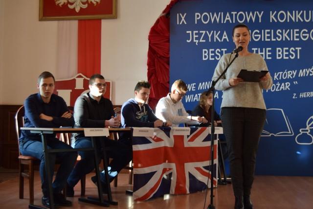 Powiatowy konkurs z języka angielskiego w I LO w Szczecinku