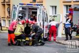 Ostrów Wielkopolski: W szpitalu walczą o życie ciężko poparzonej w wybuchu gazu 12-latki. ZDJĘCIA
