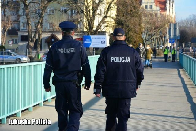 Powołanie wspólnego polsko-niemieckiego zespołu policyjnego Gubin/Guben.