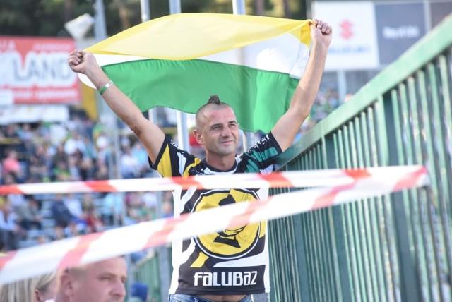 Kibice Falubazu Zielona Góra.