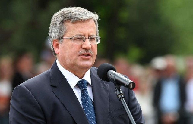 Prezydent Bronisław Komorowski w Grudziądzu