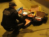 Celnicy z Gdyni przechwycili ponad 2 tys. paczek papierosów bez akcyzy