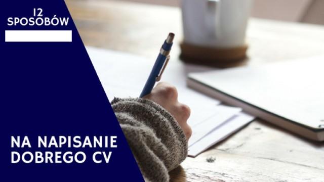 Wiele osób zastanawia się, jak napisać dobre CV. Aby wyróżnić się na tle innych kandydatów do pracy, warto kierować się kilkoma zasadami. Zobacz, jak napisać CV, które zainteresuje rekrutera.  Sprawdź aktualne oferty pracy  Przeczytaj:  Jak napisać dobre CV? 12 sposobów na zainteresowanie rekrutera [ZDJĘCIA]