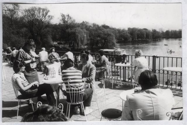 Archiwalne zdjęcia restauracji Przystań