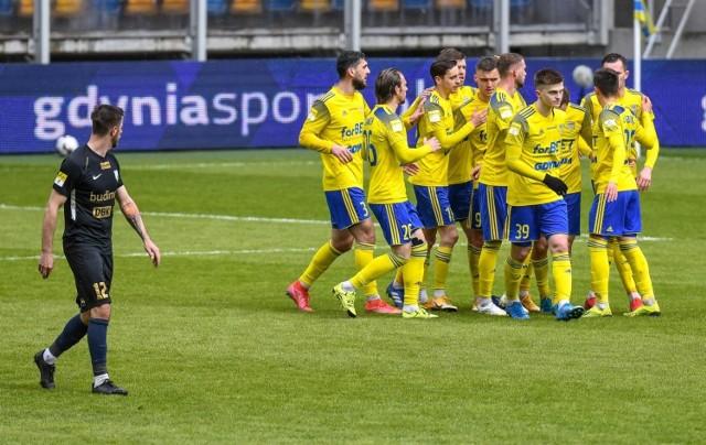 Piłkarze Arki Gdynia 2 maja 2021 roku w Lublinie po raz czwarty zagrają w finale Pucharu Polski