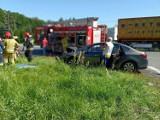 Tragiczny wypadek na DK 86 w Będzinie. Jedna osoba nie żyje, dwie są ranne