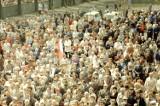 W 1981 roku był nie tylko pochód pierwszomajowy. Zobacz tłumy na obchodach rocznicy uchwalenia Konstytucji 3 maja!