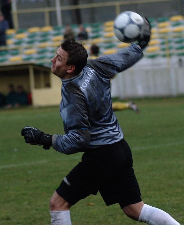 Tomasz Kowalczyk gra w Promieniu już ponad 20 lat.