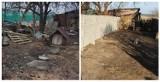 Rodzina z Kochcic ma nowe ogrodzenie. Poprzednie było w katastrofalnym stanie