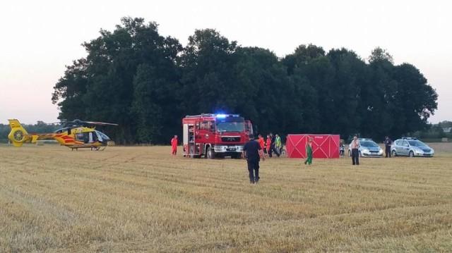 Chłopczyka reanimowali policjanci i strażacy, niestety nie żyje 4-latek z Sycowa