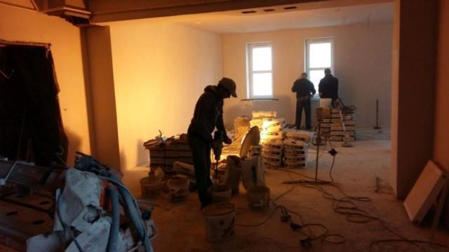 Prace remontowe w GCK Kargowa
