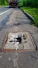 DTŚ w Gliwicach: Uszkodził kilka kilometrów drogi [ZDJĘCIA]