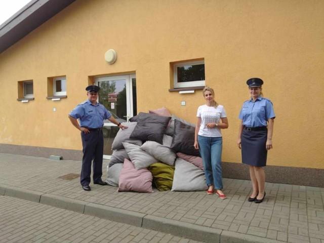 Poduszki dla zwierzaków dla szczecineckiego schroniska