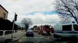 Wypadek w Mysłowicach. Dwa auta zderzyły się na skrzyżowaniu w Brzezince
