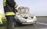 Dwa dni i dwa pożary aut na autostradzie A2 [ZDJĘCIA]