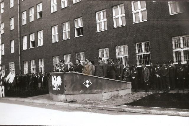 1985 rok - Uroczystości z okazji 30-lecia Ośrodka Szkolenia Specjalistów Samochodowych