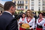 Zbigniew Ziobro zachęcał w Tarnowie do głosowania na Andrzeja Dudę