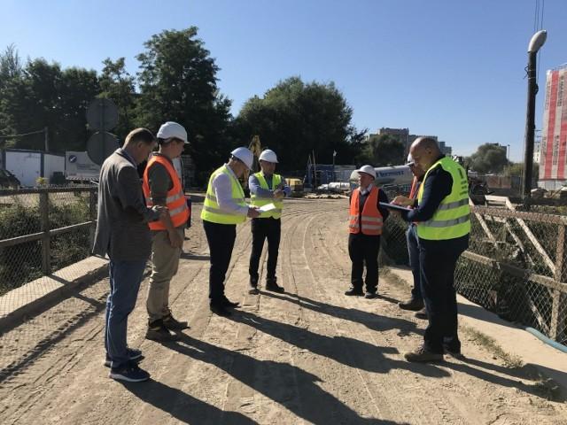 Budowa wiaduktu w Batowicach ma trwać do połowy 2022 roku