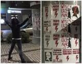 Strajk Kobiet w Kraśniku zmienił formę działania. W mieście pojawiły się plakaty protestu