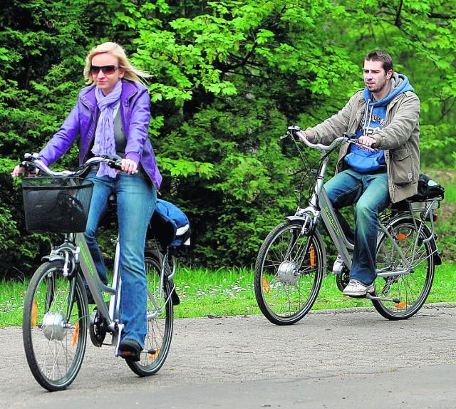 Elektryczne rowery mogą być hitem tegorocznej majówki