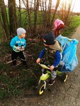 Trwa wielkie sprzątanie w gminie Gizałki. Mieszkańcy chętnie angażują się w ekologiczną akcję