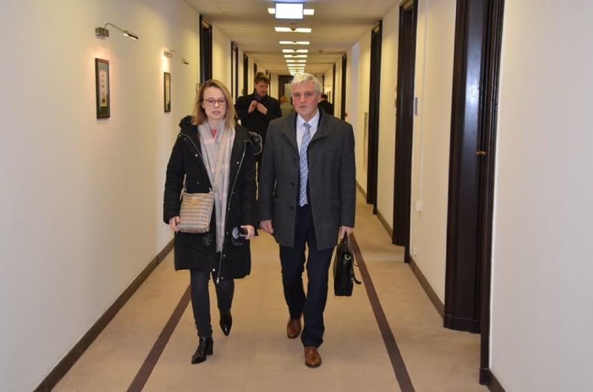 Spotkanie robocze w Ministerstwie Gospodarki Morskiej i Żeglugi Śródlądowej - 10 marca 2020