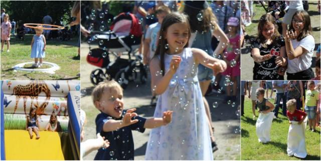 W parku miejskim w Łęczycy na uczestników czeka mnóstwo atrakcji, konkursy i zabawy z nagrodami.