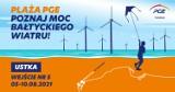 """""""Plaża PGE - Poznaj Moc Bałtyckiego Wiatru""""- PGE zaprasza do strefy edukacyjnej promującej odnawialne źródła energii na plaży w Ustce"""