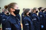 Nowi policjanci przyjęci do służby w jednostkach województwa łódzkiego