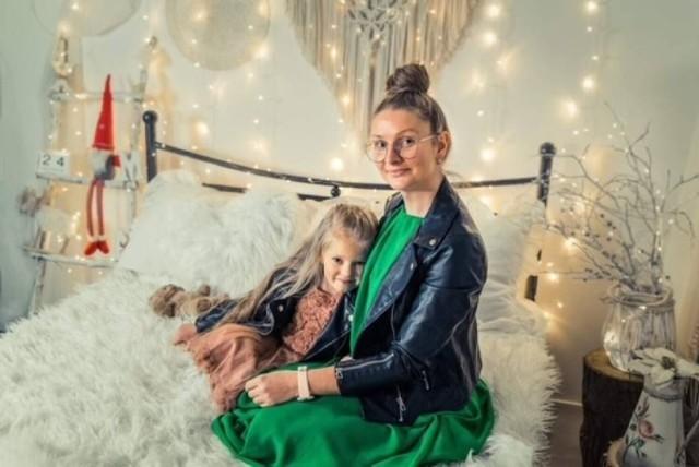 1 miejsce: Marta Pęgowska z córką Igą - 709 głosów