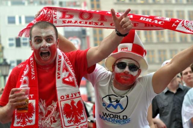 W Strefie Kibica podczas meczu Polska - Grecja