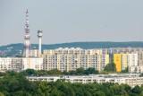 Wieża RTV na Piątkowie jest zagrożeniem dla samolotów? Przyczyną wymiana systemu telewizyjnego. Wyłączono oświetlenie przeszkodowe